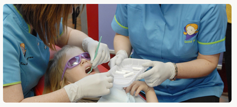 2.5_Fluoride varnishing being applied